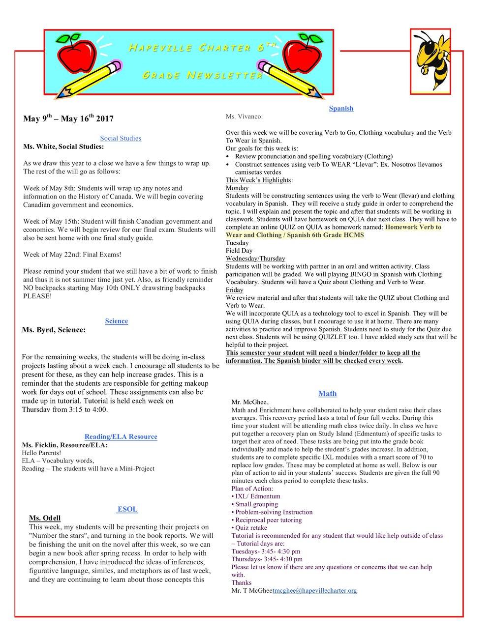 Newsletter Image6th Grade Newsletter 5-9-2017.jpeg