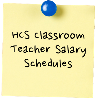 HCS Classroom Teacher Salary Schedules sticky.png