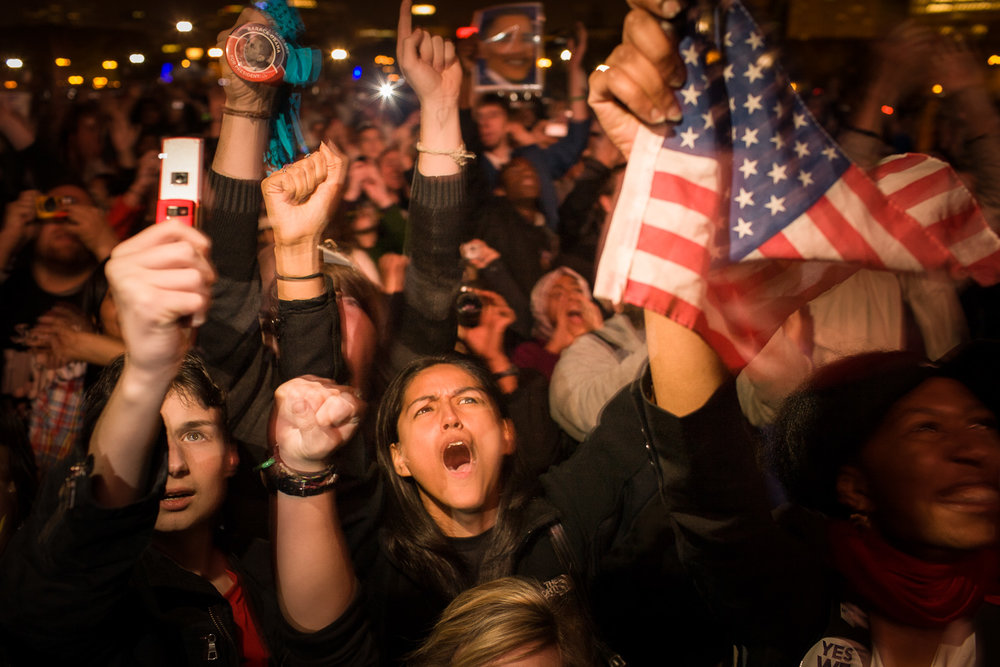 Election Night, Chicago