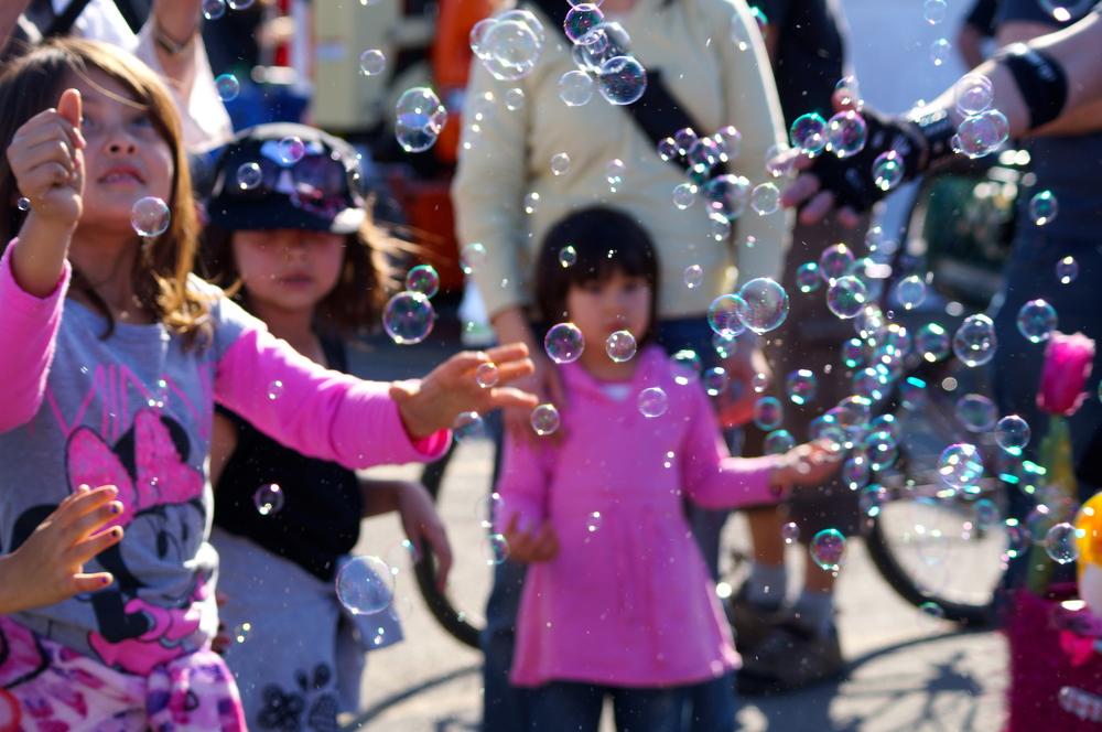 Bubble magic, Exploratorium, San Francisco