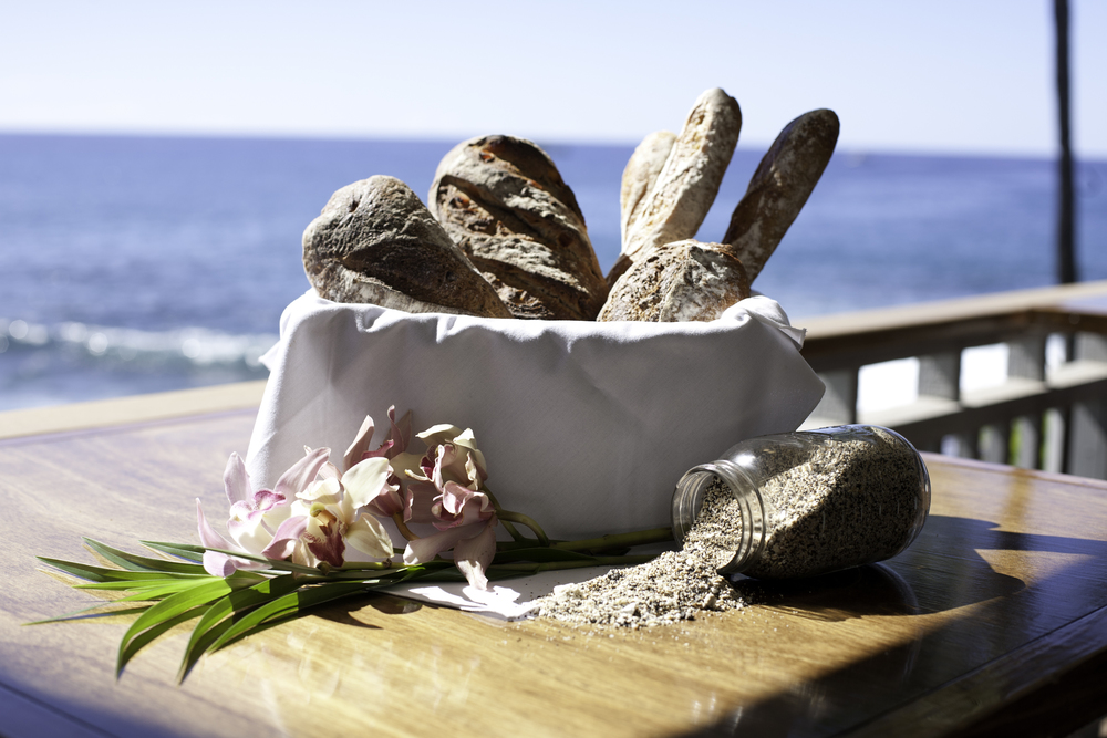 Bread basket in sun with sand jar.jpg