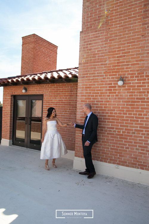 Phoenix Wedding At Encanto Park Mercedes Neil
