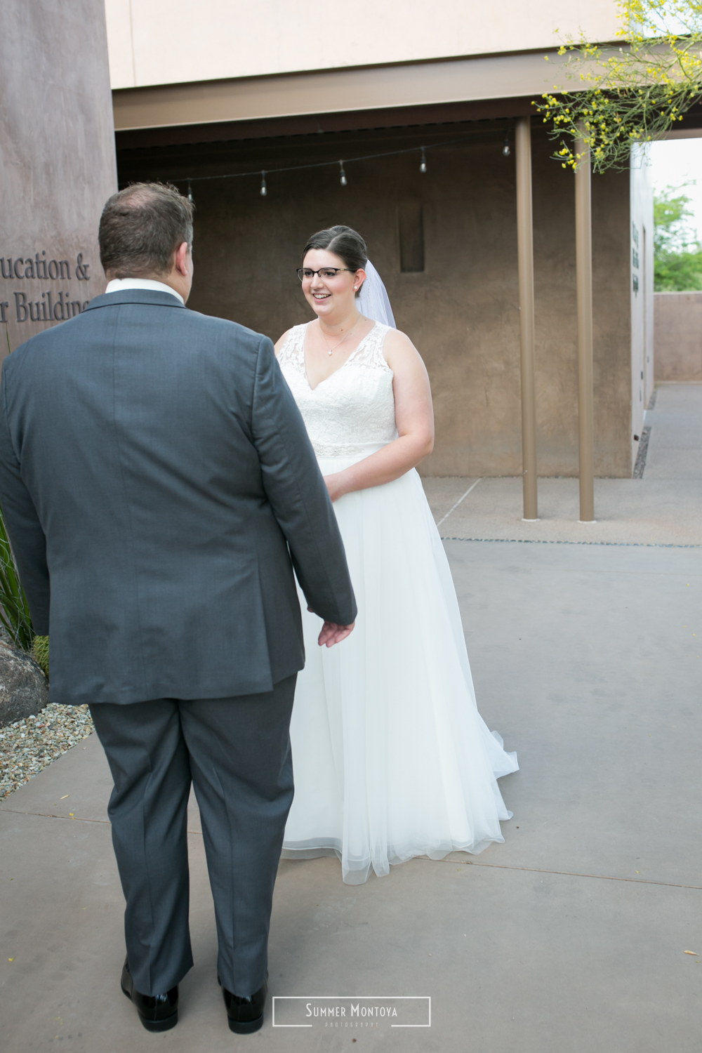 First look at a wedding at the Desert Botanical Gardens