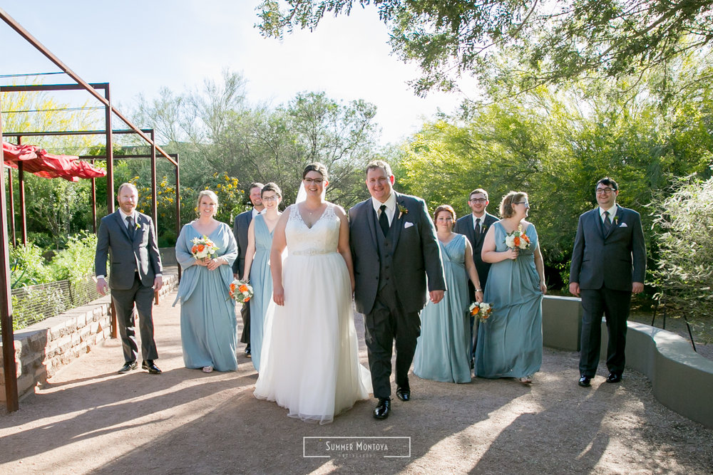Phoenix wedding at the Desert Botanical Gardens