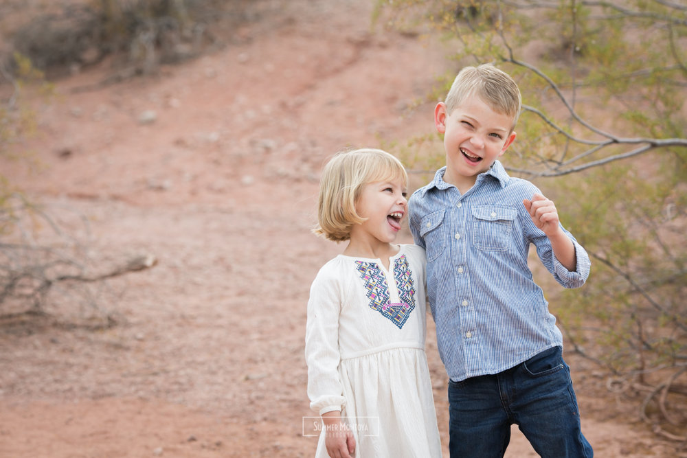 Phoenix family photos at Papago park
