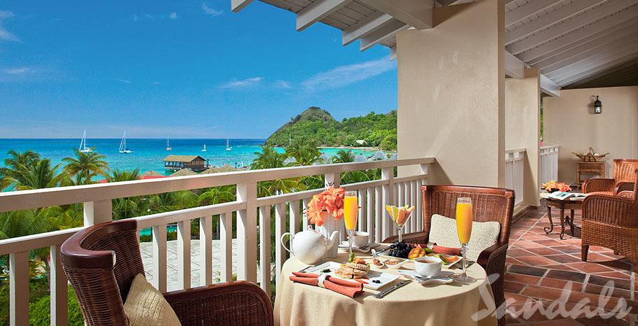 Dine around the world in eight international restaurants including the renowned over-the-water Gordon's. Fourteen additional restaurants await your pleasure at the two other Sandals resorts in St Luca. Excitement and entertainment abound with enthralling fire dancers, on premise village festivals, saxophone serenades from atop the pool tower, and ongoing entertainment nightly