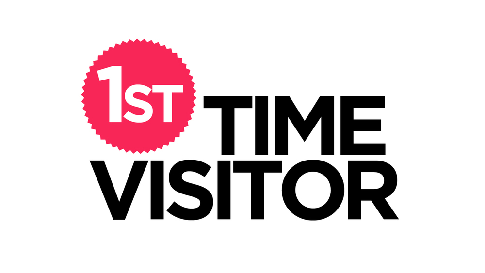 First Time Visitor Logo