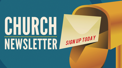 Church Newsletter Slide — Vintage Church Resources