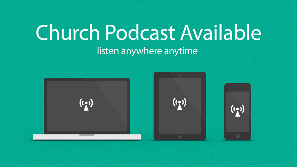 Church Podcast Slide