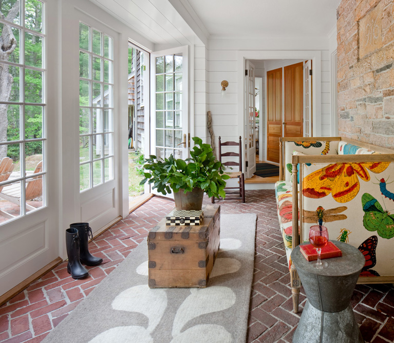 private residence, Exeter RI - Gale Goff Architect + Kate Jackson Interior Design