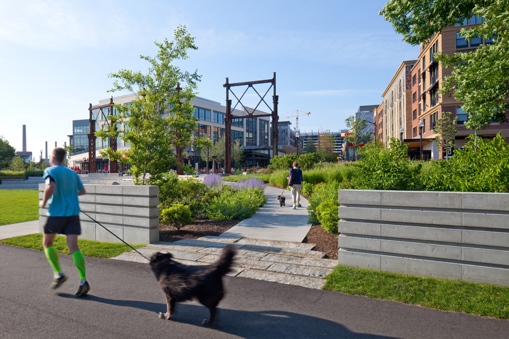 Baxter Riverfront Park, Somerville MA - Copley Wolff Design Group