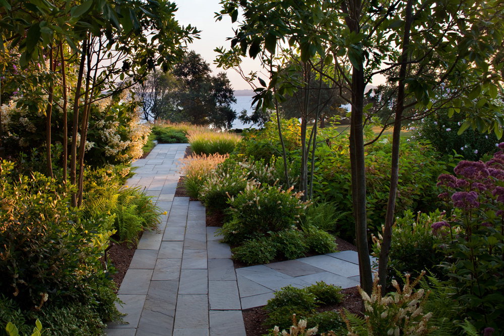 private residence, Middletown RI - Leblanc Jones Landscape Architects