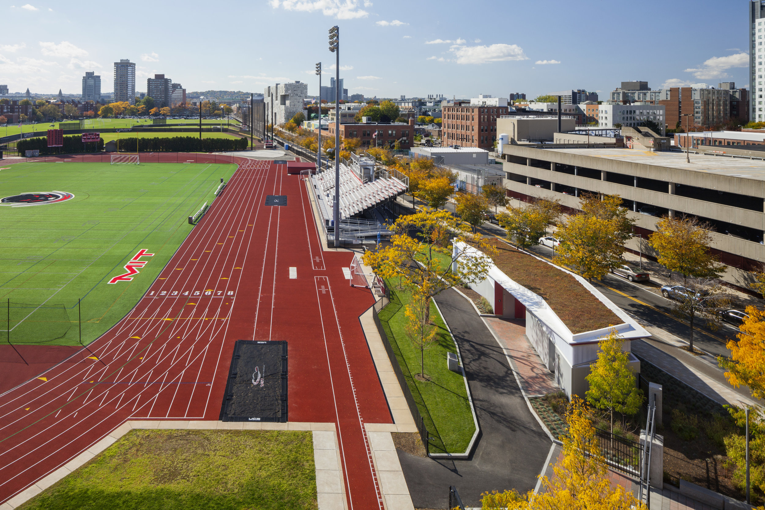 MIT Vassar Street Athletic Complex, Cambridge MA - Activitas