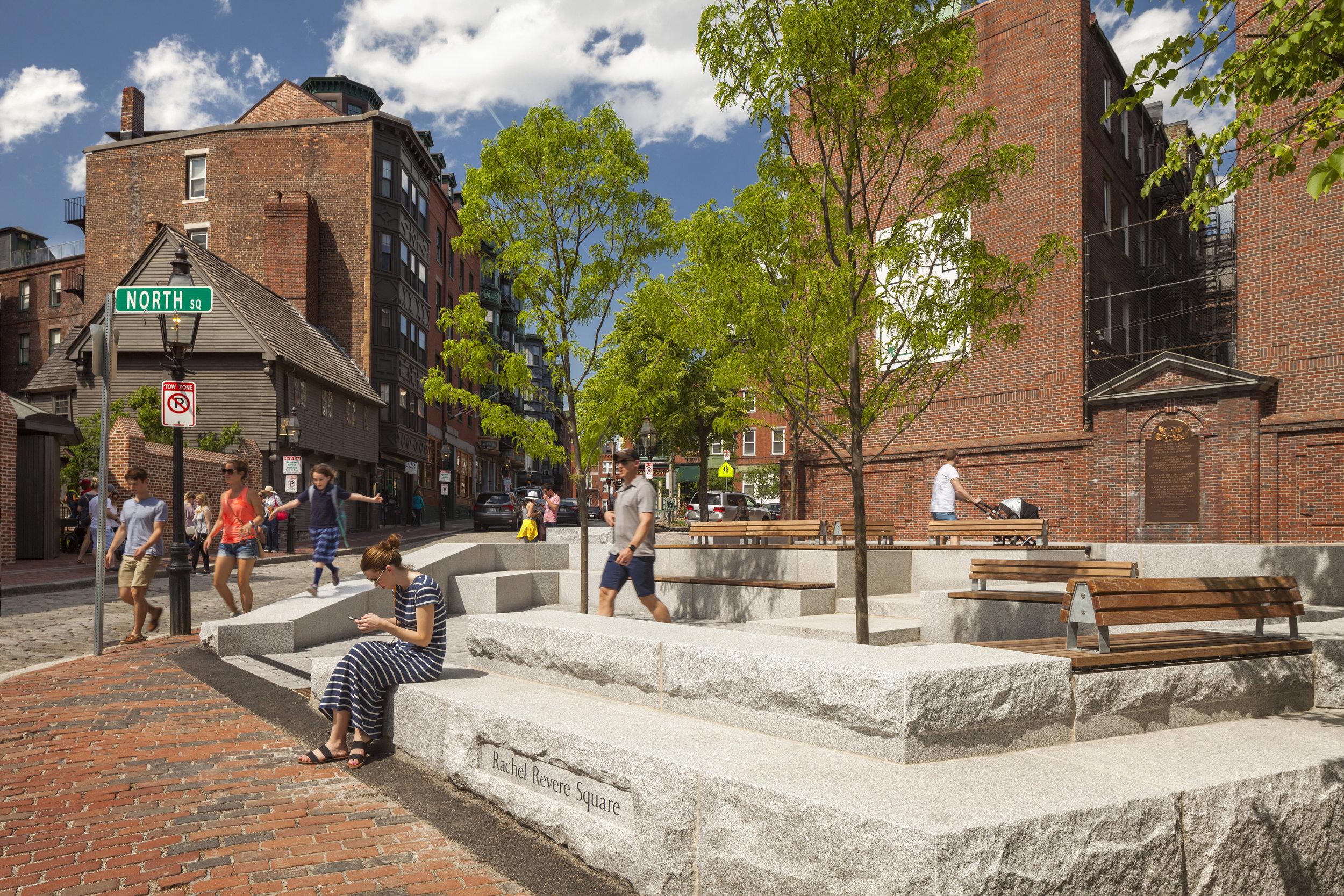 Rachel Revere Square, Boston, MA - Kyle Zick Landscape Architecture