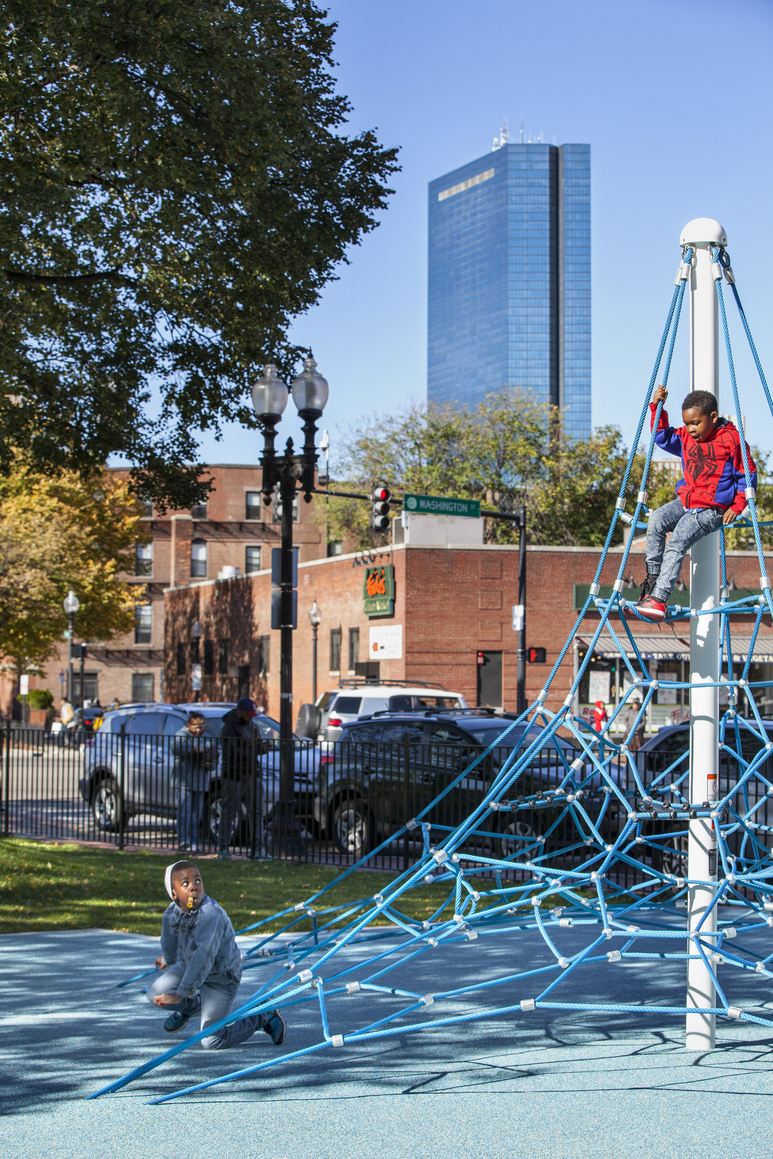 Monsignor Reynolds Playground, Boston, MA - CBA Landscape Architecture