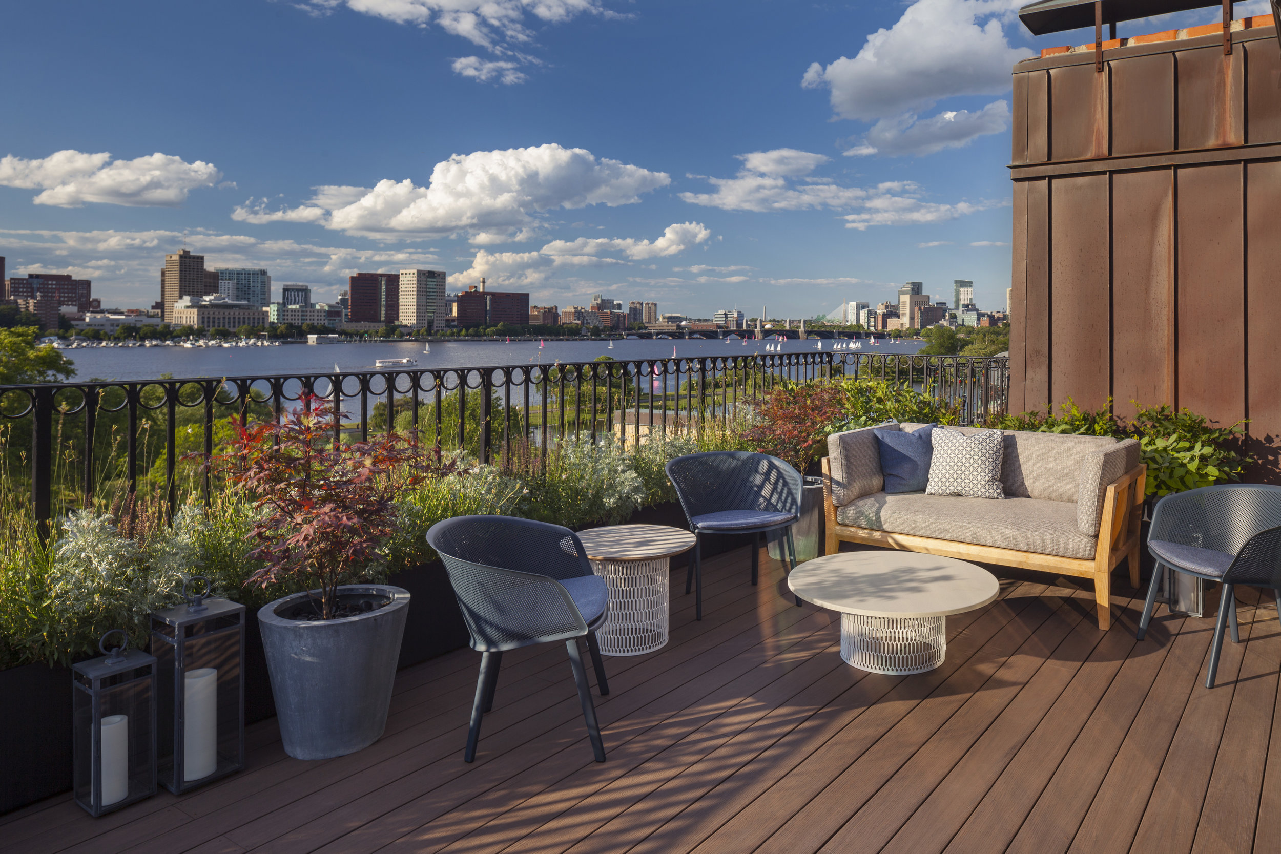 Back Bay residence, Boston MA - Pate Landscape Architecture