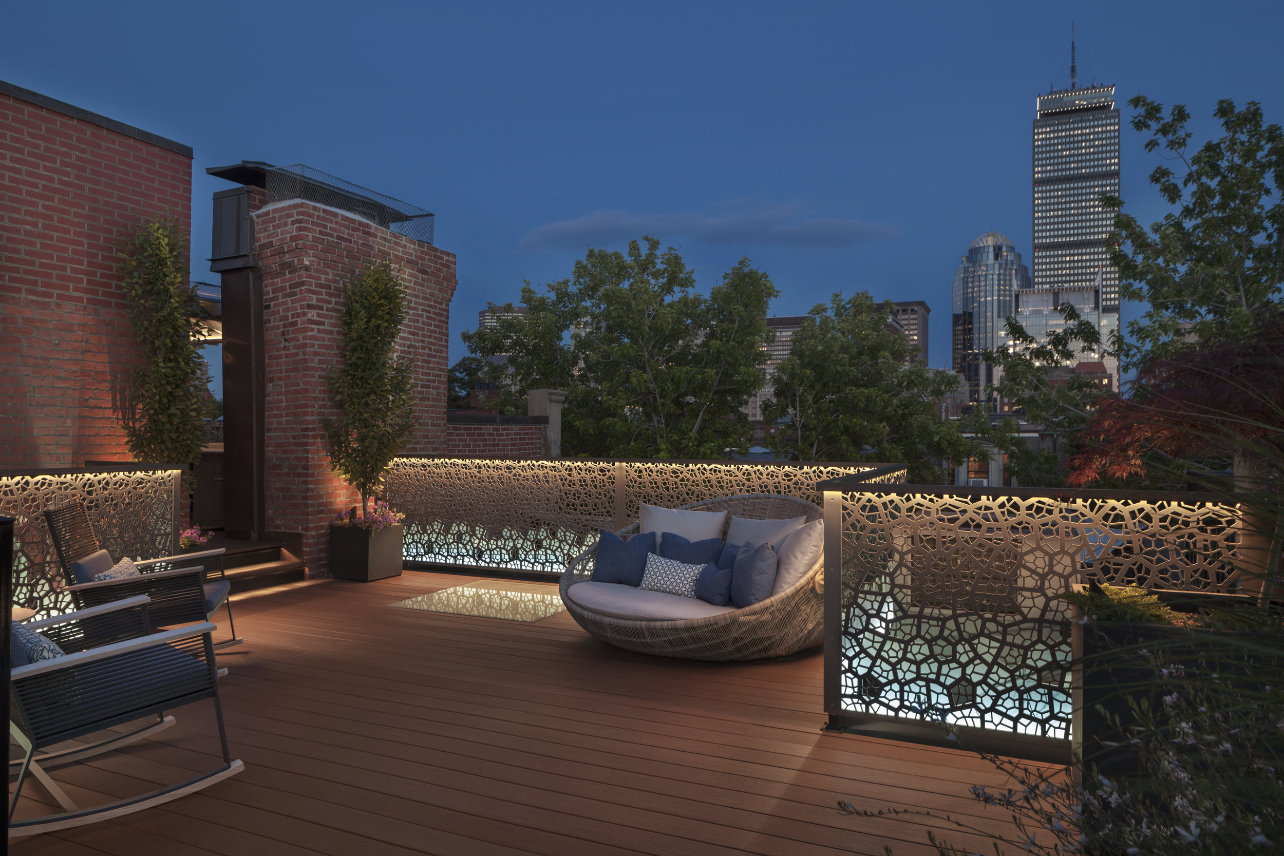 Back Bay residence, Boston, MA - Pate Landscape Architecture