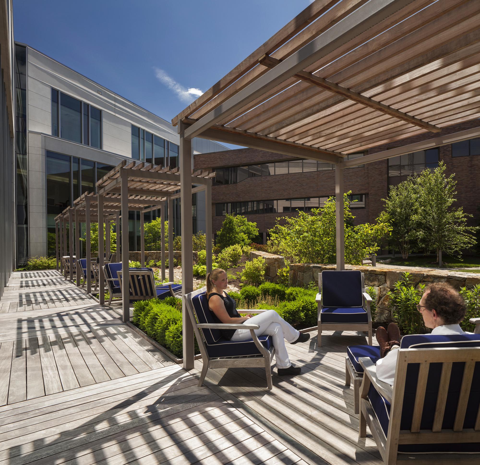 Norma Pfreim Healing Garden, Trumbull CT - Towers Golde