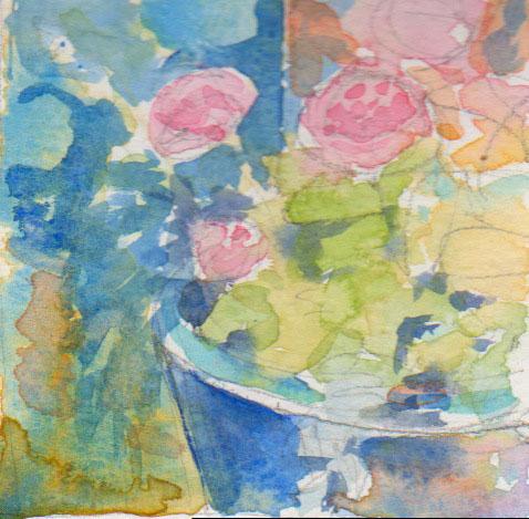 blue pot preliminary sketch 1
