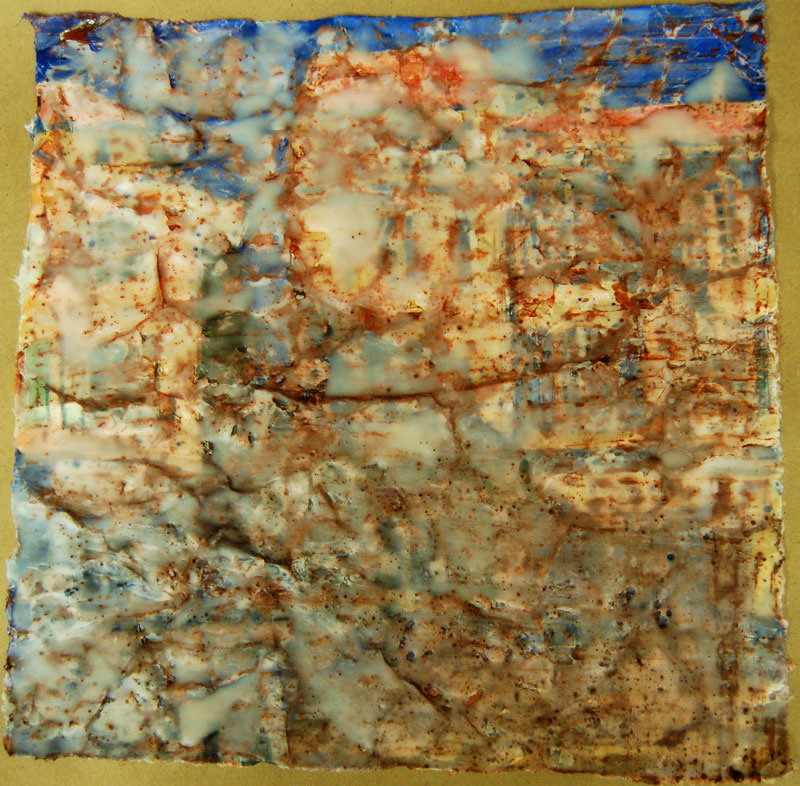 ... Batik on Rice Paper Step-by-Step Demo — Art by Yevgenia Watts