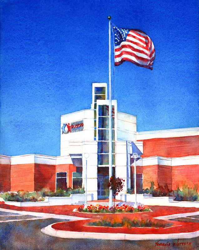 Mississippi Blood Service building