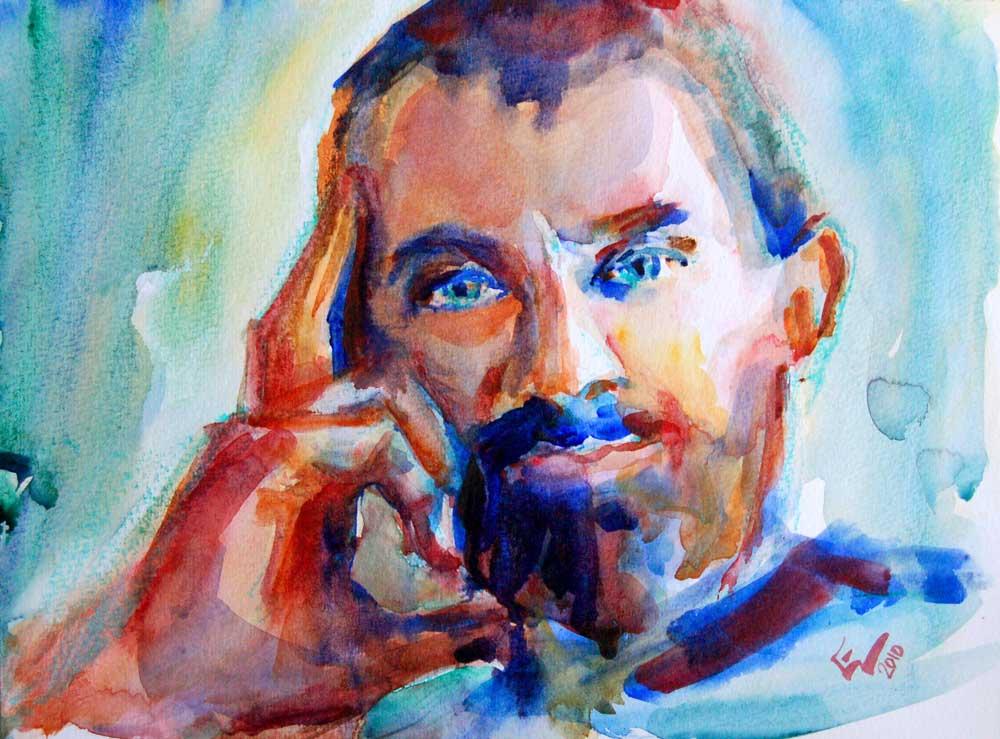 a portrait a day 4 giorgio