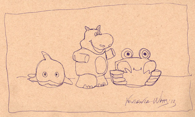 toys sketch