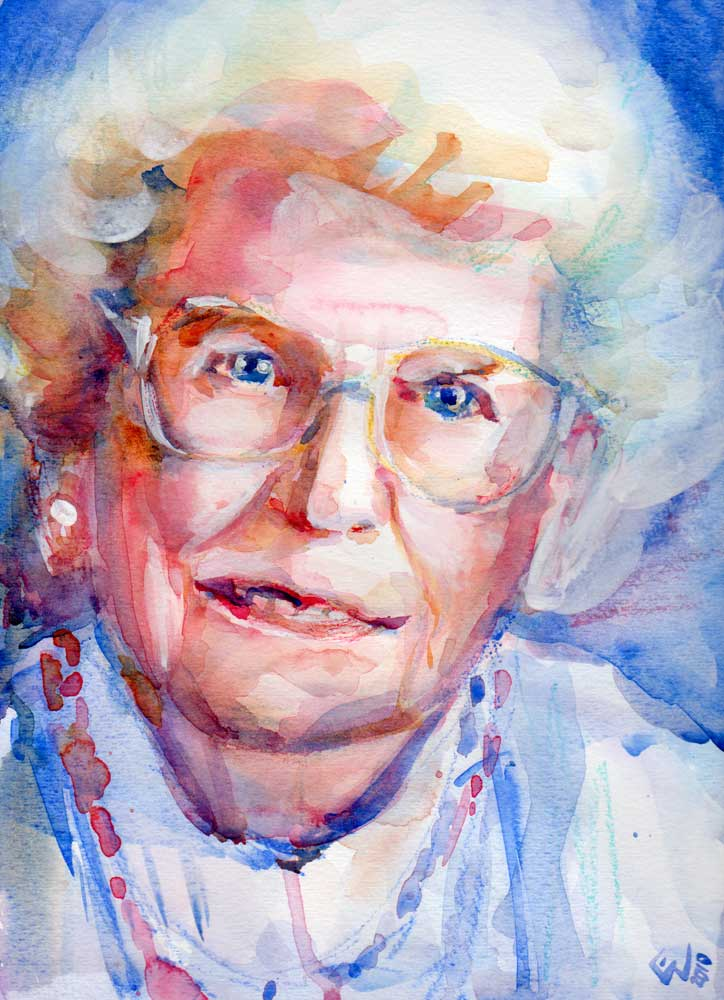 Realistic Watercolor Portraits of Quot Realistic Quot Portraits