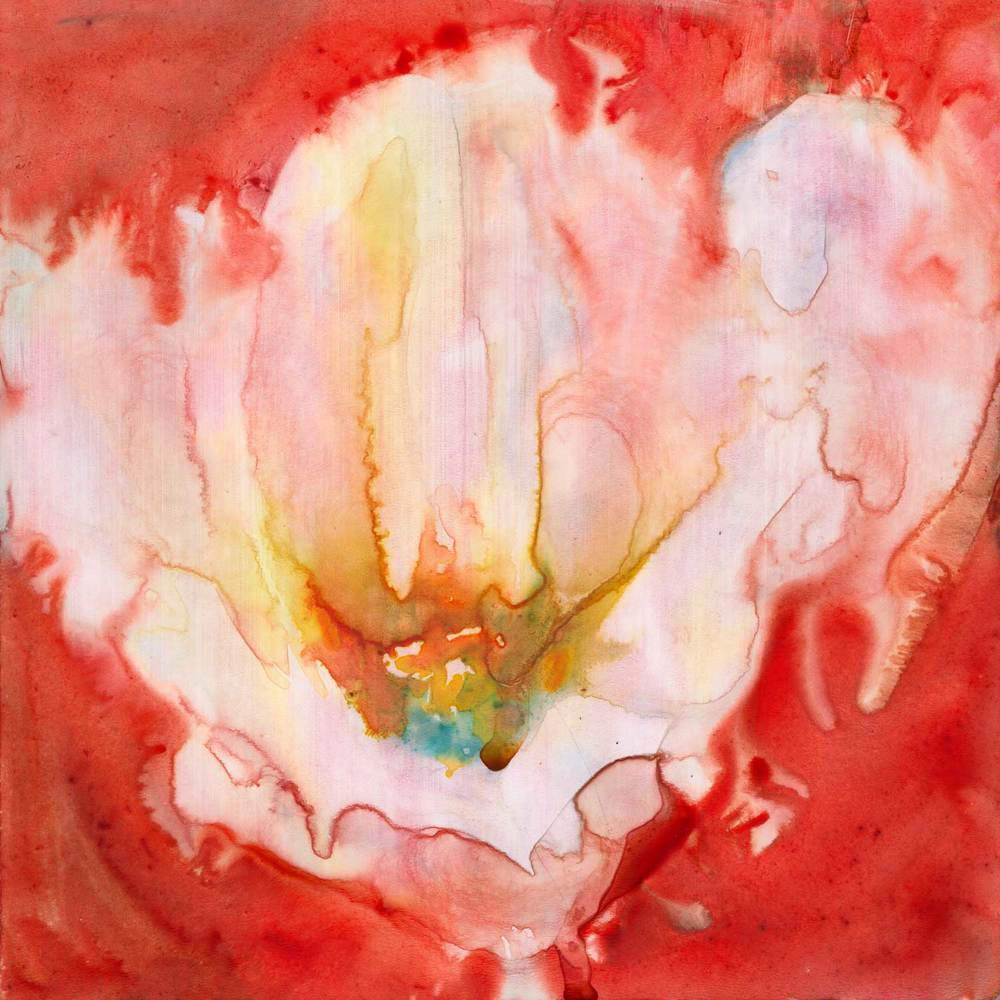 "'Breathe' watercolor on Yupo mounted on board. 6x6."" Click the image to learn more and buy."