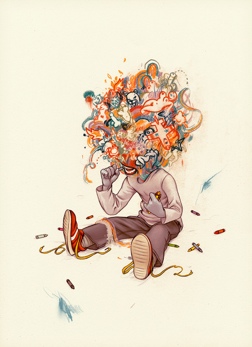 """Crayon Eater"" 2007"