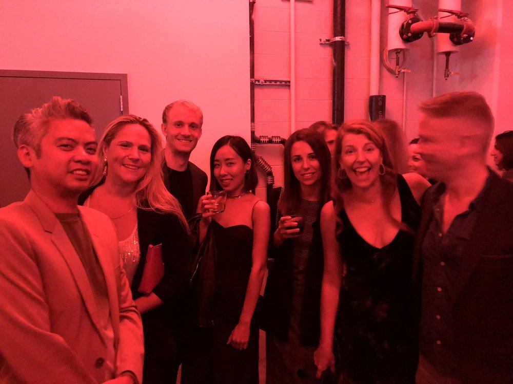 The Rise Projects team at the Brooklyn Navy Yard for the 2018 Architectural League Beaux Arts Ball, co-chaired by our very own Karen Frome. This year's theme,  Vector , celebrates the flow of ideas, goods, and people through global networks of communication and exchange.