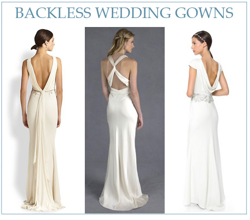 a81f3f4ba2 L-R  Badgley Mischka Beaded Back-Drape Gown from Saks Fifth Avenue
