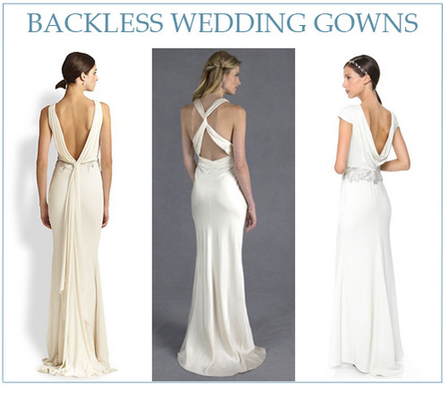 L R Badgley Mischka Beaded Back Drape Gown From Saks Fifth Avenue Lia Bridal Nicole Miller Collection Cowl