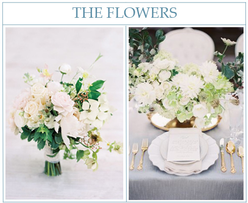Bouquet by Tre Bella Florist and centerpiece by Kae & Ales