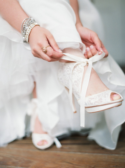 BHLDN shoes  by  Erich McVey