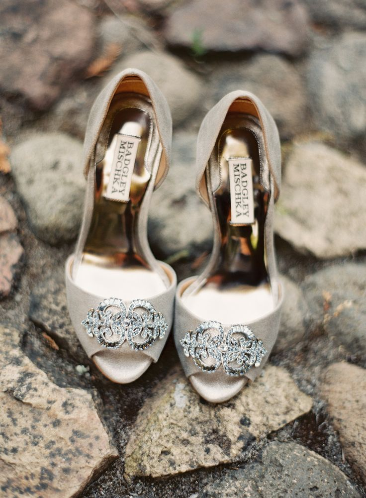 Badgley Mischka pumps  from  Jessica Burke