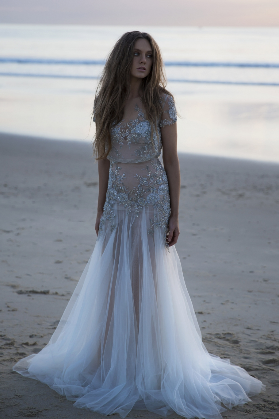 Inbal Dror gown via The Lane