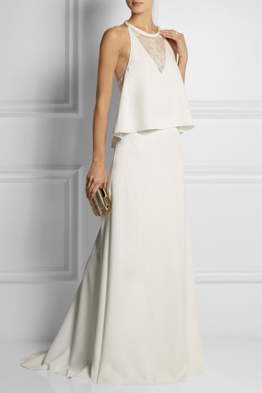 Rime Arodaky two piece gown via Net-a-Porter