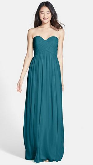 25 Fab Fall Bridesmaid Dresses