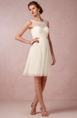 Chloe dress from BHLDN