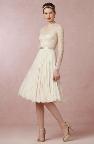 Waterfall dress from BHLDN