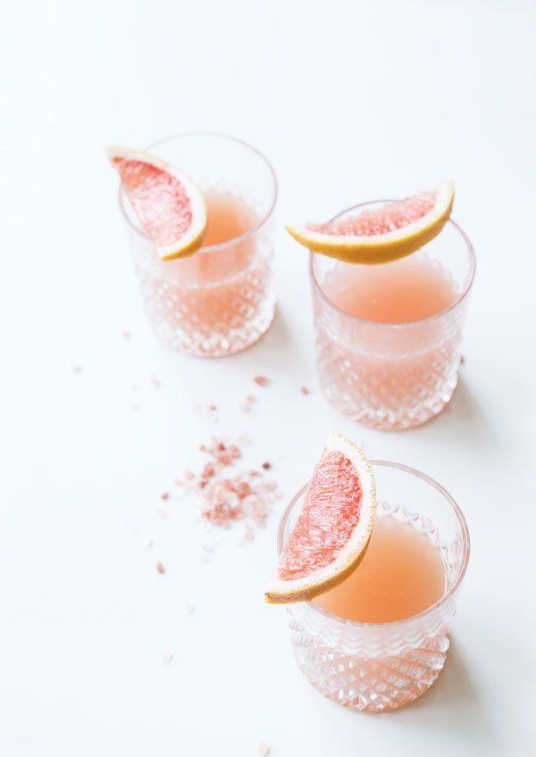 Pink Grapefruit Margarita via Trendland
