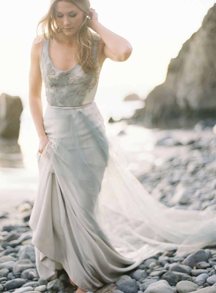 Carol Hannah gown by Brett Heidebrecht via Style Me Pretty