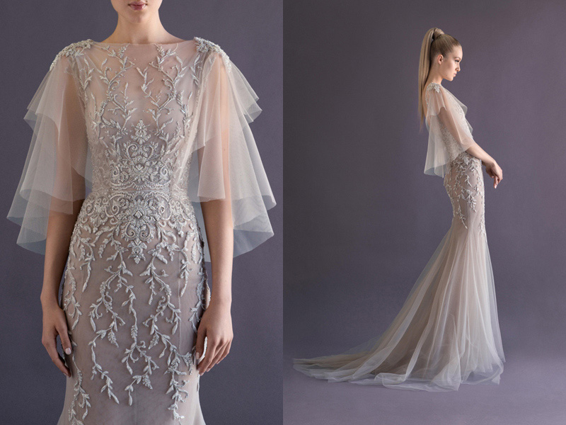 Paolo Sebastian gown via Bride to Be