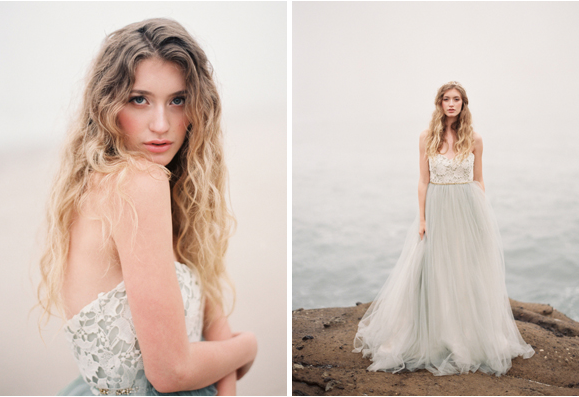 Elizabeth Dye gown by Greer G Photography via Wedding Sparrow