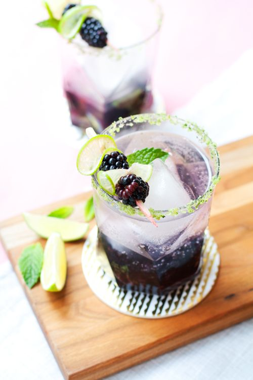 Blackberry Ginger Smash from Hungry Girl Por Vida