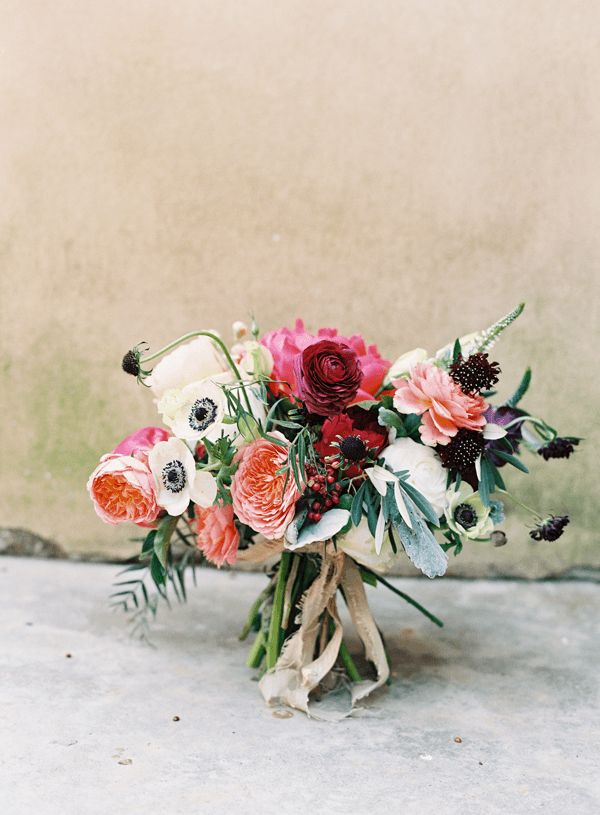 Amy Osaba bouquet by Rylee Hitchner via Once Wed