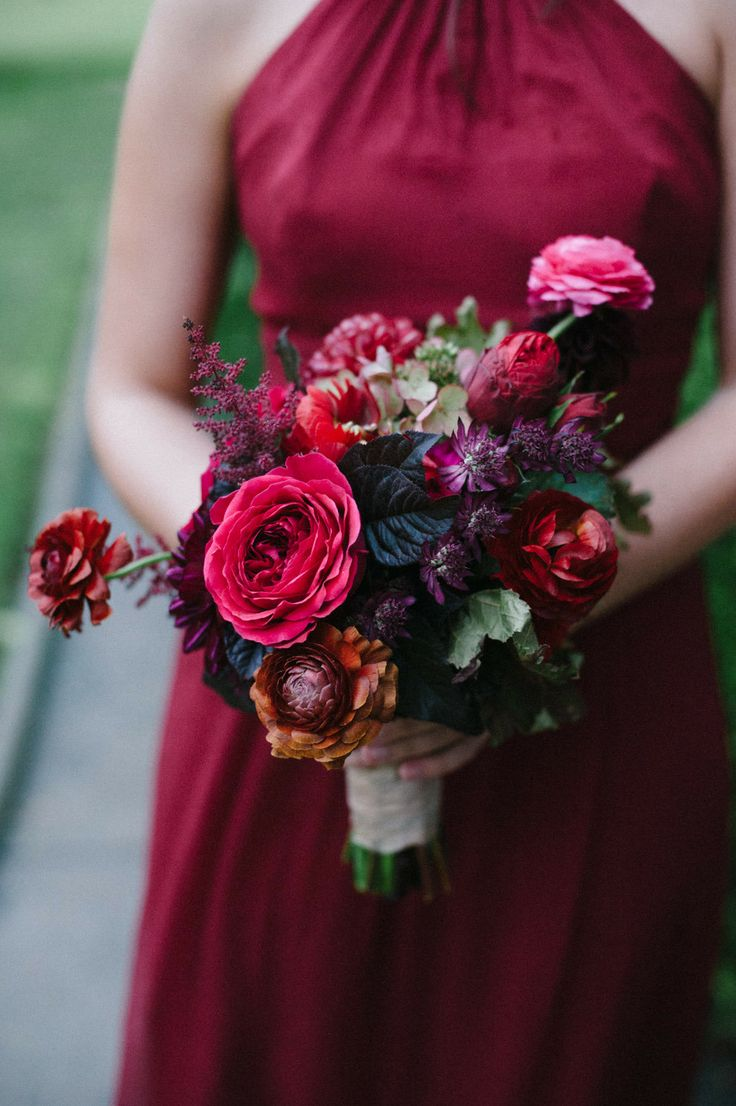 Bouquet from  The Nouveau Romantics  by  Christine Sargologos  via  Style Me Pretty