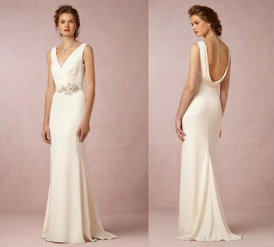 BHLDN Livia gown, $800