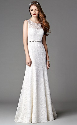After Six wedding gown, $550